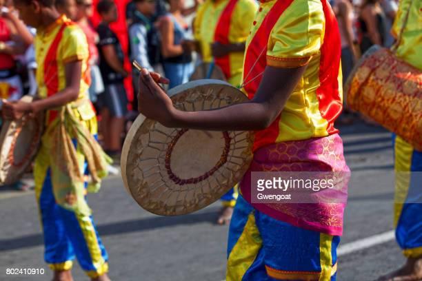 Bateristas no Carnaval Boucan Grand
