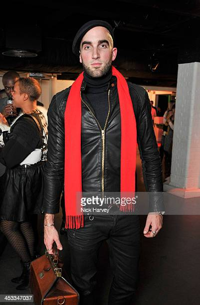 Drummond MoneyCoutts attends the Fashion Fringe 10 Year Anniversary Party at the London Film Museum on December 3 2013 in London England