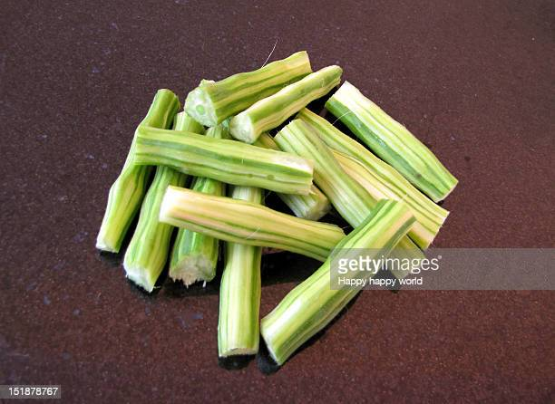 drumstick - moringa oleifera stock photos and pictures