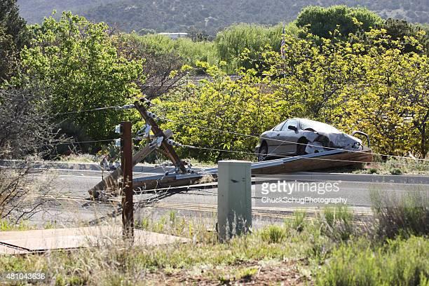 Conducir borracho accidente accidente de tráfico