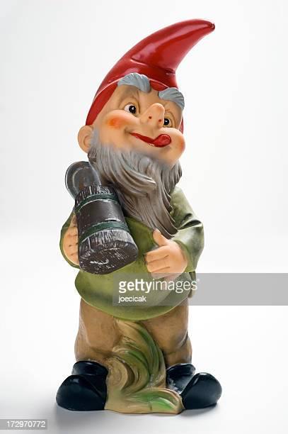 Betrunkene Gnome