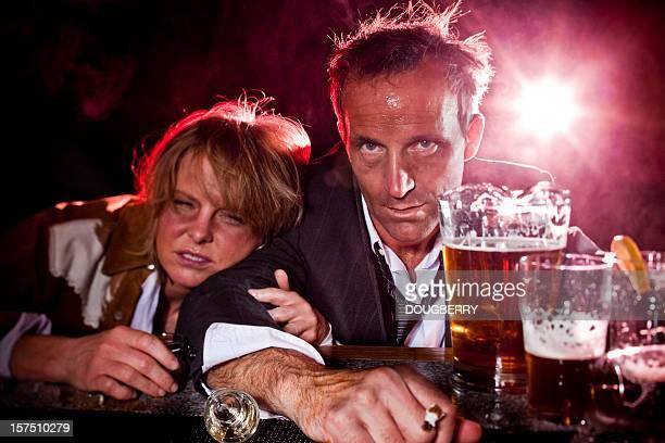 Drunks au bar