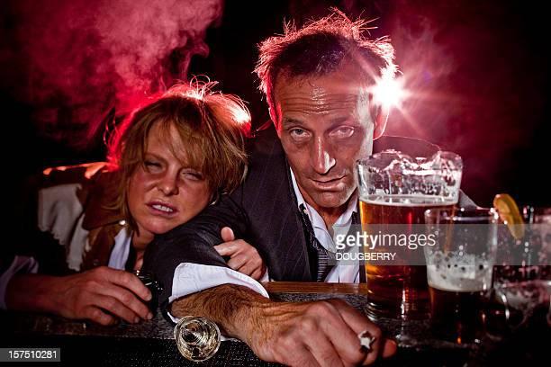 Drunks at the bar