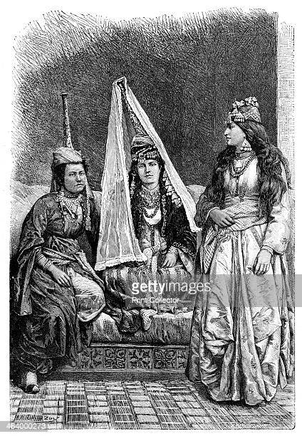 Druze Princess and Lady of the Lebanon 1895 From The Universal Geography with Illustrations and Maps division XVII written by Elisee Reclus and...