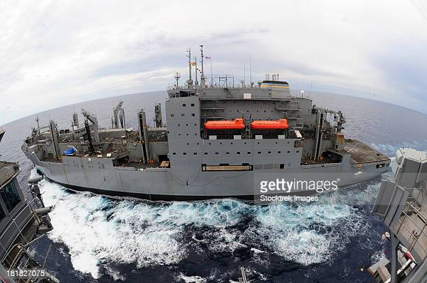 dry cargo and ammunition ship usns sacagawea. - sacagawea stock pictures, royalty-free photos & images