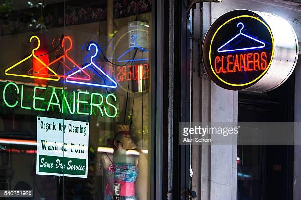 dry cleaner store, new york city