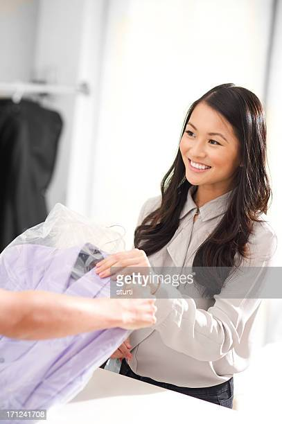 dry cleaners - dry cleaner stock pictures, royalty-free photos & images