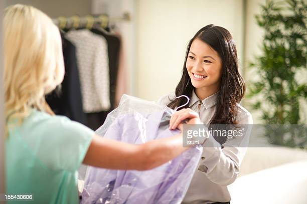dry cleaning - dry cleaner stock pictures, royalty-free photos & images
