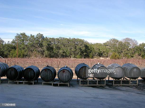 Dry Comal Creek Vineyards and Winery in New Braunfels Texas was one of the first wineries in Hill Country Franklin Houser planted his first vines in...