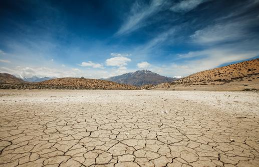 Dry Dhankar lake 492393882