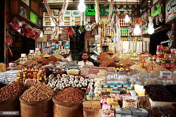 Dry Fruit Shop in Empress Market, Karachi Pakistan