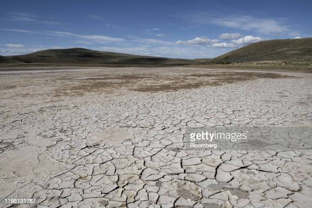 A dry lake bed is seen in Coyhaique Chile on Monday Nov 11 2019 Miguel Torres the patriarch of Miguel Torres SA one of the largest in winemakers all...