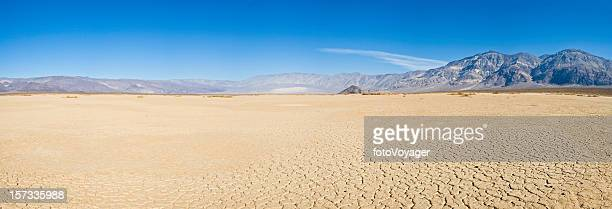 Dry lake desert vista
