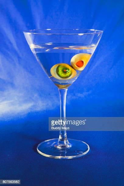Dry Martini in a glass