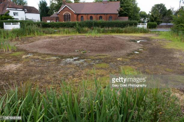 dry pond - gary colet stock pictures, royalty-free photos & images