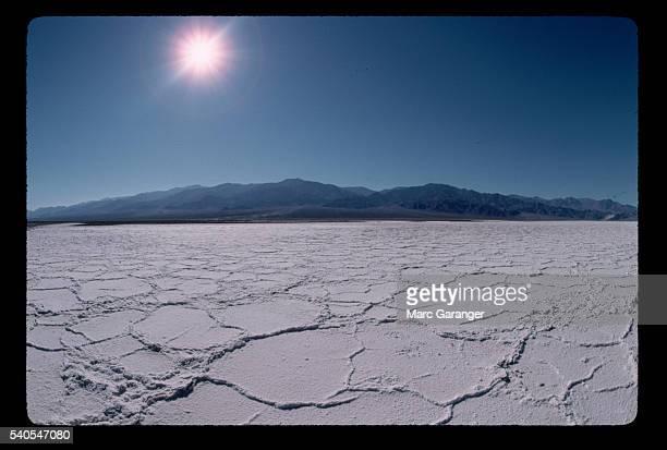 Dry Salt Pan and Panamint Range