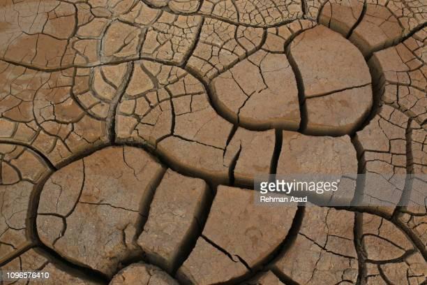 dry terrain - lehm mineral stock-fotos und bilder