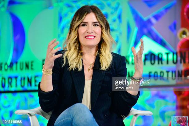 Drybar Founder Alli Webb attends Fortune Most Powerful Women Summit 2018 at Ritz Carlton Hotel on October 3 2018 in Laguna Niguel California