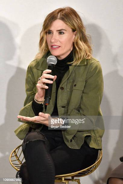 DryBar Founder Alli Webb participates in The Talks How We Changed It Presented by Visa during New York Fashion Week The Shows at Spring Studios on...