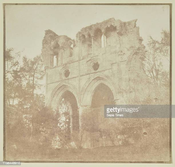 Dryburgh Abbey Tomb of Sir Walter Scott William Henry Fox Talbot Berwickshire Scotland October 1844 Salted paper print from a paper negative 168 Ñ...