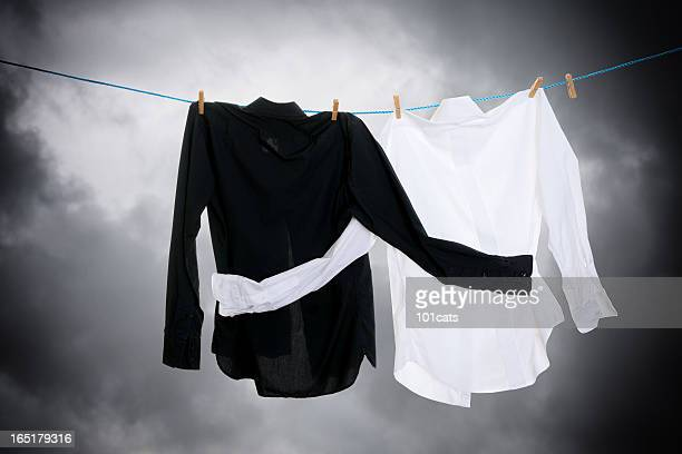 dry-cleaning - prejudice stock photos and pictures