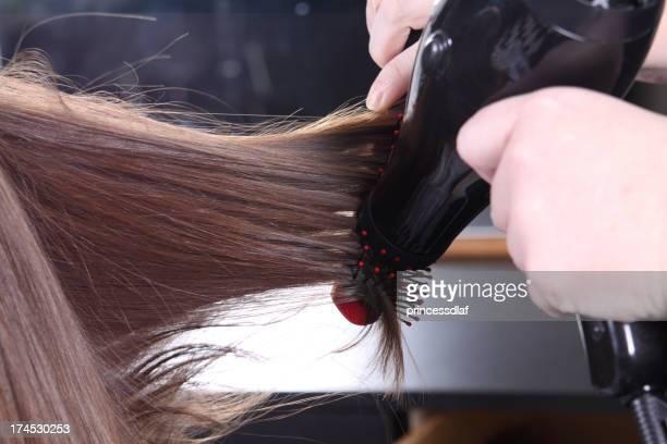 Trocknen Haare