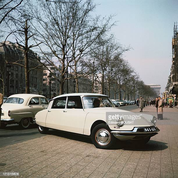 Ds 19 At The ChampsElysees Around 19551961