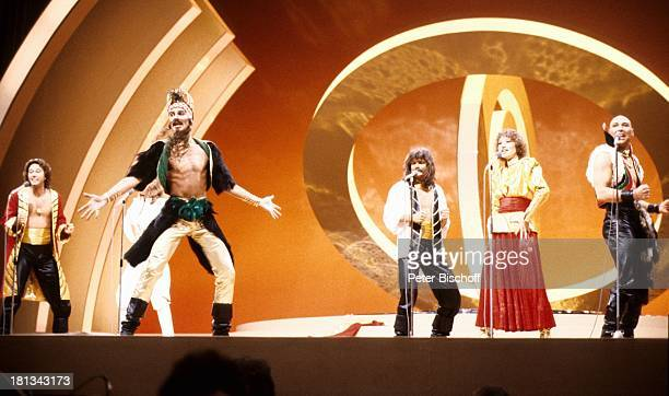 Dschingis KhanMusikGruppe Wolfgang Heichel Ehefrau Henriette Heichel Louis Potgieter Leslie Mandoki Edina Pop Steve Bender Grand Prix d'Eurovision...