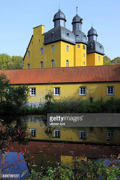 DSchloss HolteStukenbrock North RhineWestphalia NRW castle Holte hunting lodge moated castle renaissance