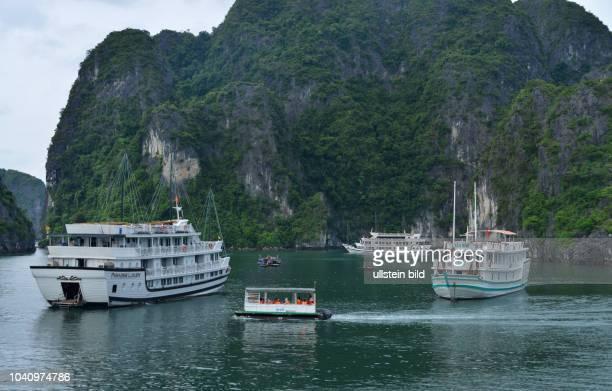 Dschunken HalongBucht Vietnam