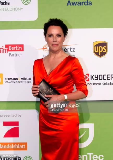 Désirée Nosbusch auf den GreenTec Awards 2015 im Velodrom Berlin am