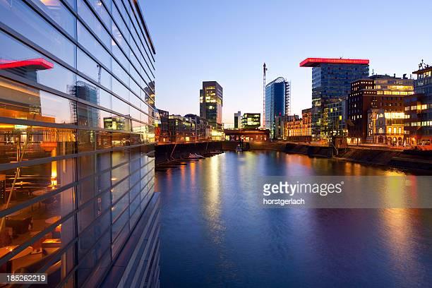 Düsseldorf harbor