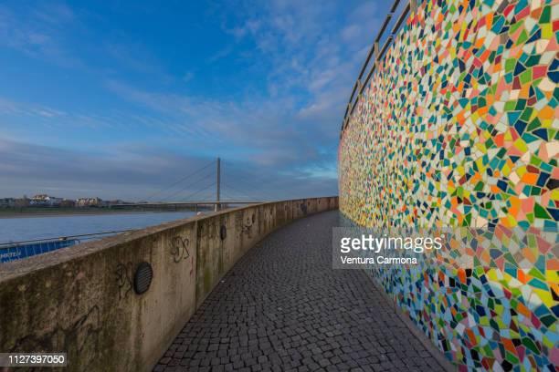Düsseldorf Rhine Panorama