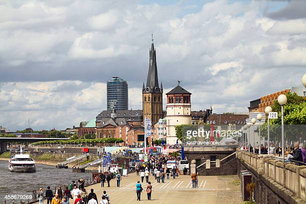 Düsseldorf riverside