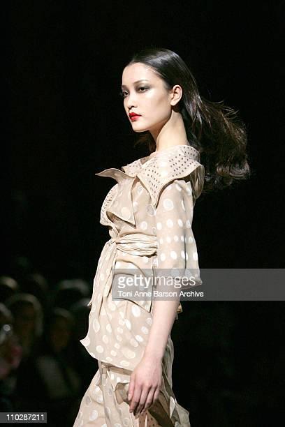 Du Juan wearing Valentino Haute Couture Spring/Summer 2006