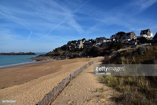 du val beach at Saint Malo Rotheneuf