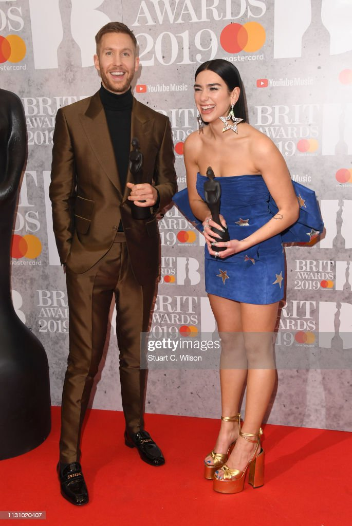 GBR: The BRIT Awards 2019 - Winners Room