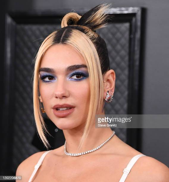 Dua Lipa arrives at the 62nd Annual GRAMMY Awards at Staples Center on January 26, 2020 in Los Angeles, California.