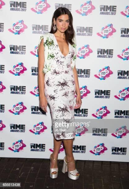 Dua Lipa arrives at the VO5 NME awards 2017 on February 15 2017 in London United Kingdom