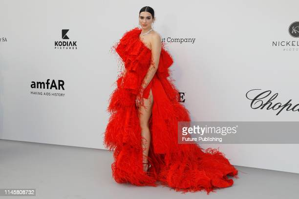 Dua Lipa at the amfAR Cannes Gala 2019 at Hotel du CapEdenRoc on May 23 2019 in Cap d'Antibes France