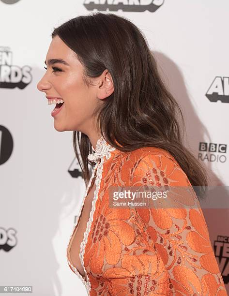 Dua Lipa attends BBC Radio 1's Teen Awards at SSE Arena Wembley on October 23 2016 in London England
