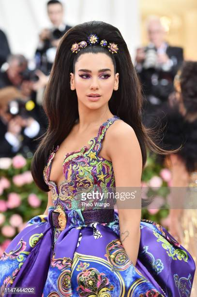 Dua Lipa attends The 2019 Met Gala Celebrating Camp Notes on Fashion at Metropolitan Museum of Art on May 06 2019 in New York City
