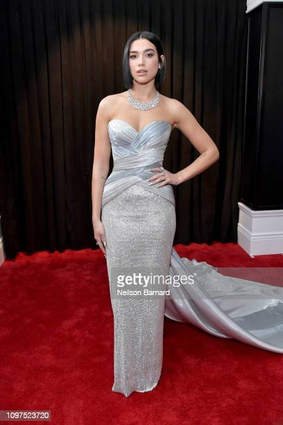 Dua Lipa attends the 61st Annual GRAMMY Awards at Staples Center on February 10 2019 in Los Angeles California