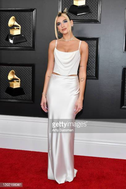 Dua Lipa attends the 62nd Annual GRAMMY Awards at Staples Center on January 26 2020 in Los Angeles California
