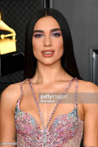 Dua Lipa attends the 63rd Annual GRAMMY Awards at Los Angeles Convention Center on March 14, 2021 in Los Angeles, California.