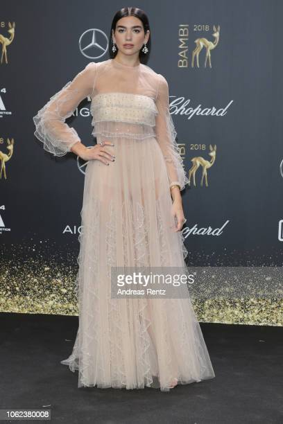 Dua Lipa attends the 70th Bambi Awards at Stage Theater on November 16 2018 in Berlin Germany