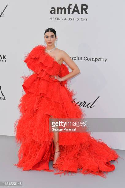 Dua Lipa attends the amfAR Cannes Gala 2019 at Hotel du CapEdenRoc on May 23 2019 in Cap d'Antibes France