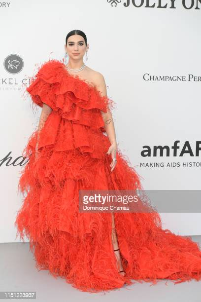 Dua Lipa attends the amfAR Cannes Gala 2019 at Hotel du Cap-Eden-Roc on May 23, 2019 in Cap d'Antibes, France.