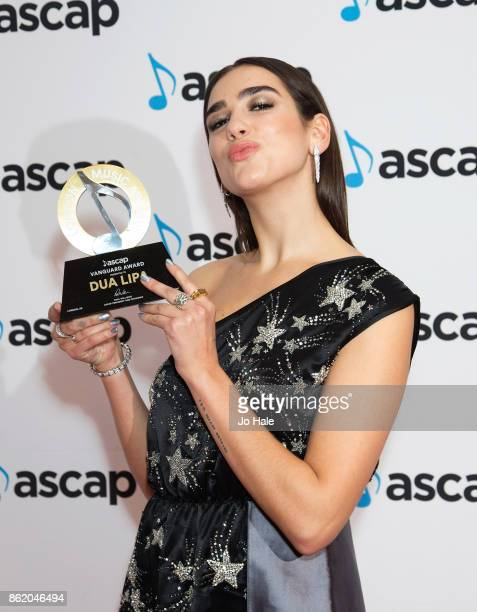 Dua Lipa attends the ASCAP Awards 2017 at One Marylebone on October 16 2017 in London England