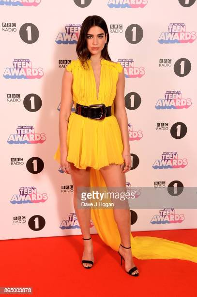 Dua Lipa attends the BBC Radio 1 Teen Awards 2017 at Wembley Arena on October 22 2017 in London England